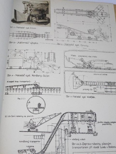 Stavitelství tunelové - 1. část - přednášky V. Mencla - 1948