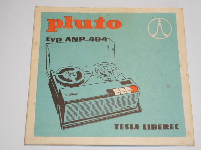 Tesla Pluto typ ANP 404 - návod k obsluze