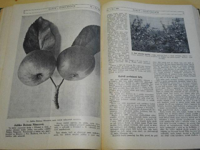 Český rolník - 1925 - 1926 - rádce zemědělců, chovatelů drobného zvířectva, včel a majitelů zahrad