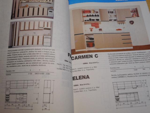 Informačný katalóg nábytku 1990