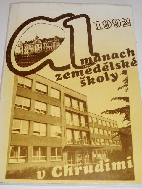 Almanach zemědělské školy v Chrudimi - 1992