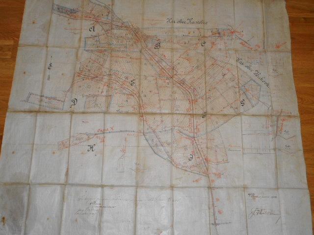 Vodní družstvo v Bělé - Kasalice - Bukovka - mapa - 1904
