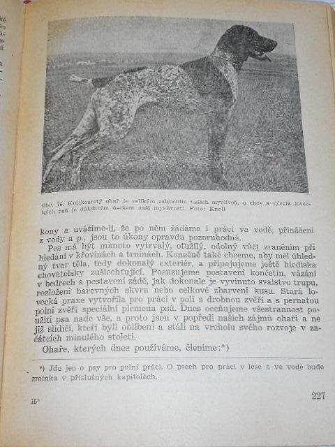Myslivost jako živočišná výroba - Karel Kostroň - 1953