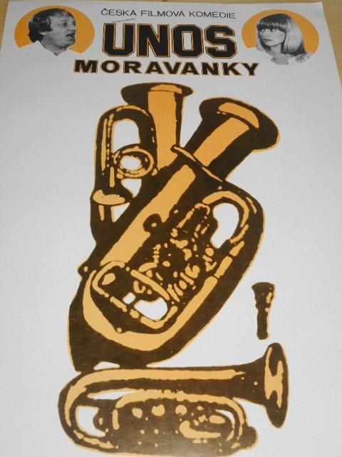 Únos Moravanky - filmový plakát - 1983