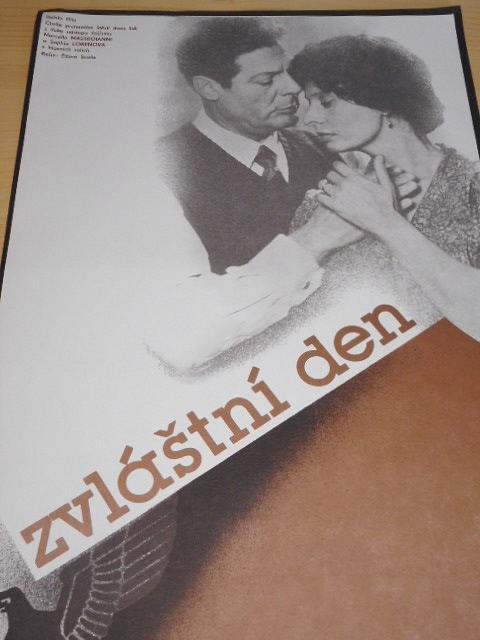 Zvláštní den - filmový plakát - 1984