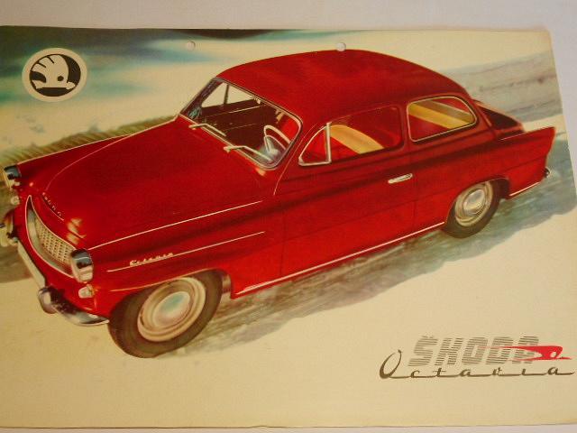 Škoda Octavia, Felicia - Motokov - prospekt