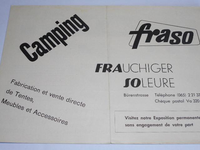 Camping Fraso - Frauchiger Soleure - prospekt