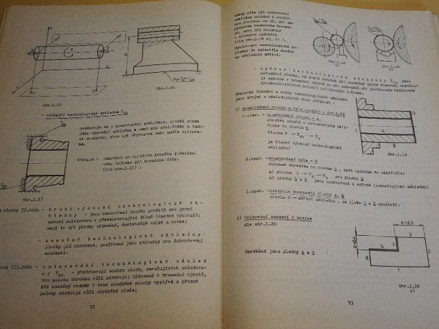 Technologie obrábění I. + II. - 1978 - Vysoké učení technické v Brně - fakulta strojní