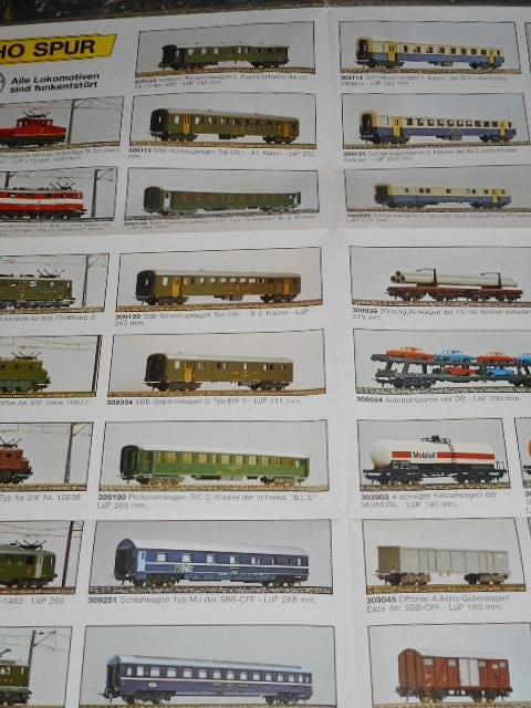 Lima models - modelová železnice - prospekt
