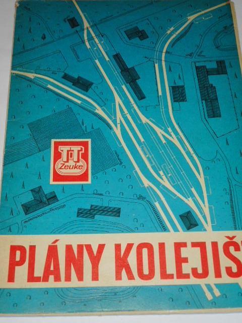 Plány kolejišť - TT Zeuke - 1969