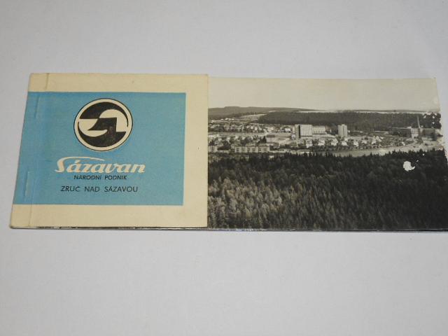 Sázavan, národní podnik, Zruč nad Sázavou - pohlednice