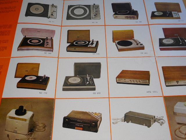 Tesla Litovel - prospekt - gramofony