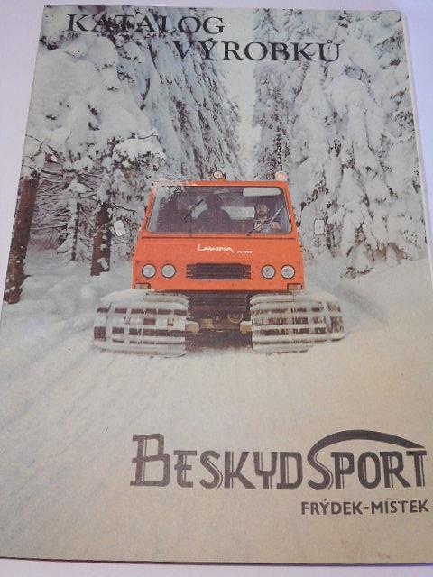 Beskydsport Frýdek - Místek - katalog výrobků