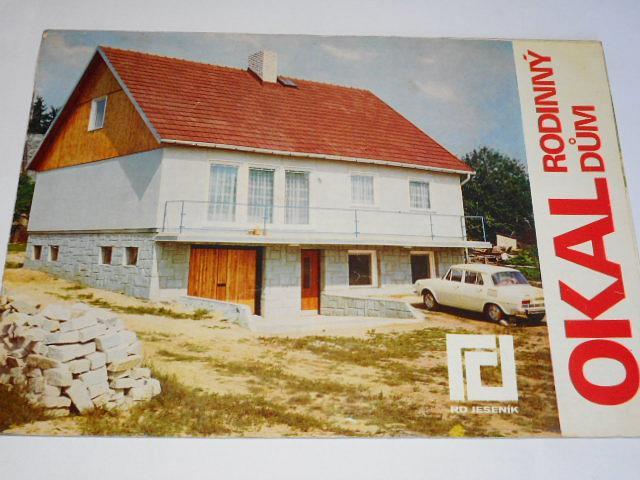 OKAL rodinný dům - RD Jeseník - prospekt - 1973