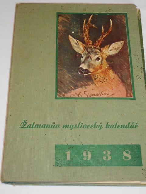 Žalmanův myslivecký kalendář 1938