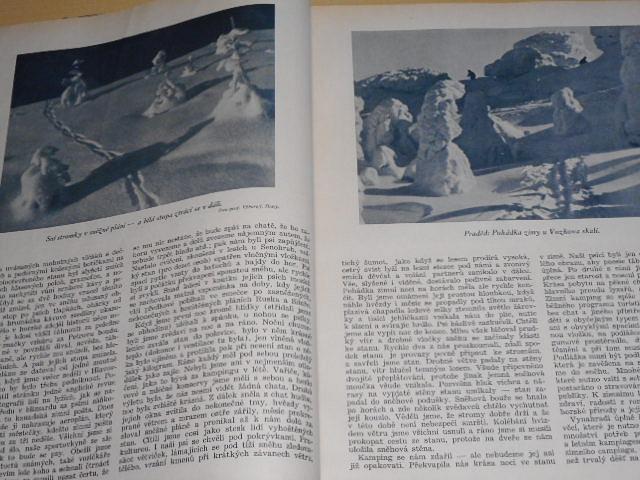 Zimní sport - orgán Svazu lyžařů RČS - 1931 - 1932 - 1933