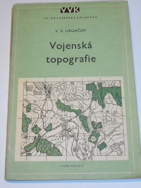 Vojenská topografie - V. V. Urgačov - 1953