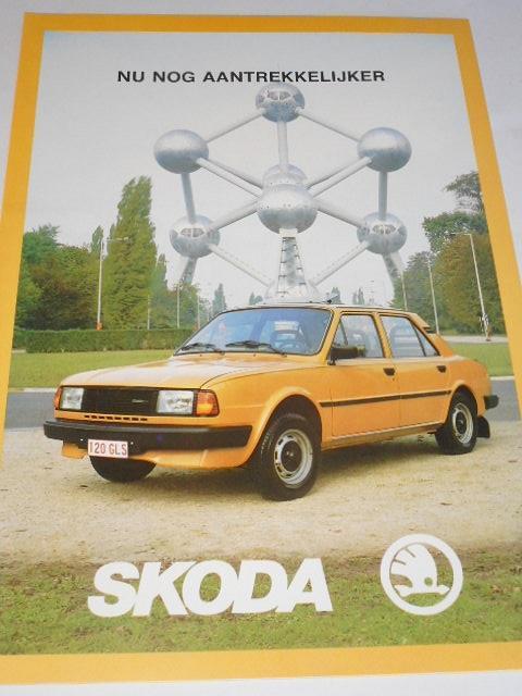 Škoda - ECO, 105 S, 105 L, 120 L, 120 LS, 120 GLS, Golden, LSX, Coupé - prospekt - N. V. Skoda Motor