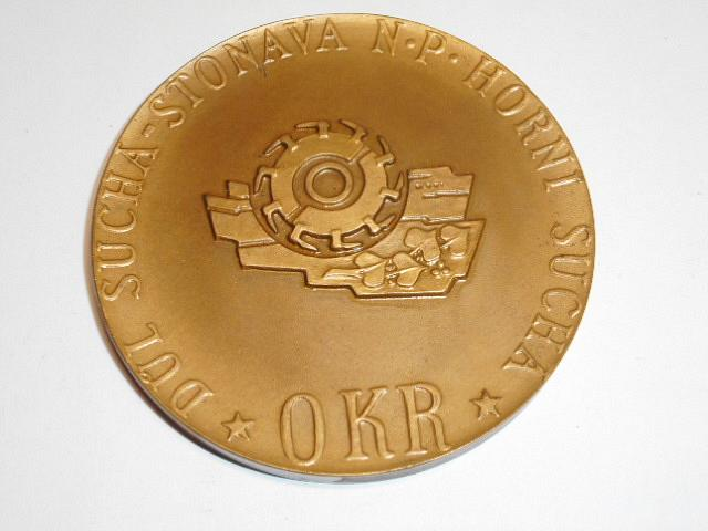OKR - Důl  Suchá - Stonava n. p. Horní Suchá - za zásluhy