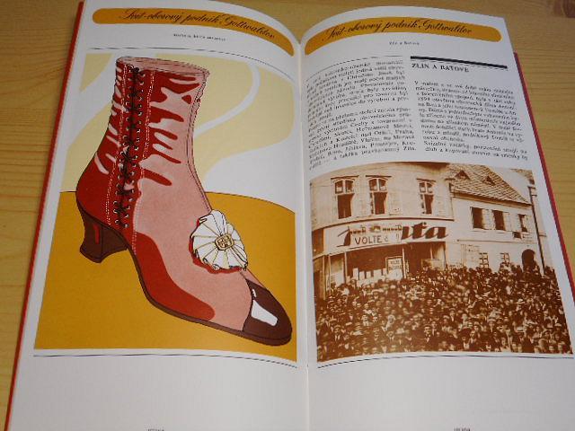 Svit, o. p. Gottwaldov - Historie, která zavazuje - Od verpánku k světovosti - Obuvnický zítřek - 1984 - Baťa, Sázavan, Botana, Kožnak...