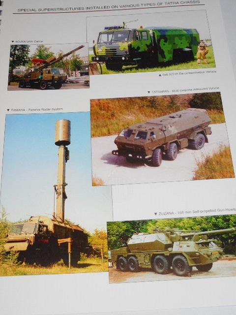Tatra military and special - purpose vehicles
