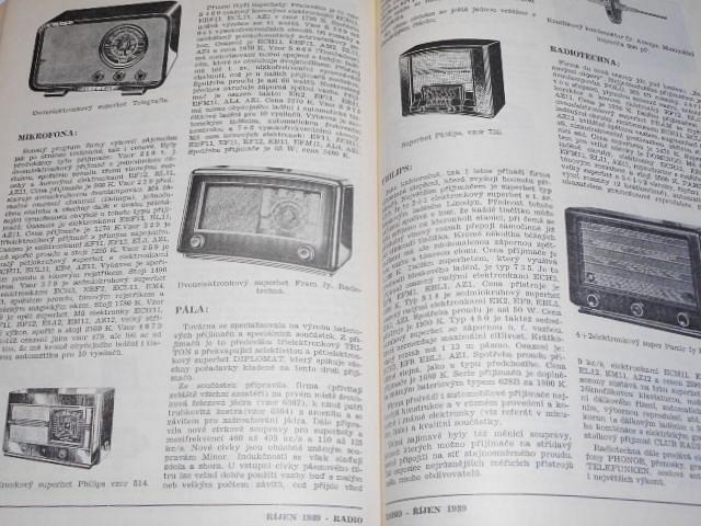 Radio - časopis jednoty radioamatérů - 1939