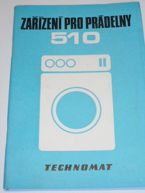 Zařízení pro prádelny - Technomat - 1986