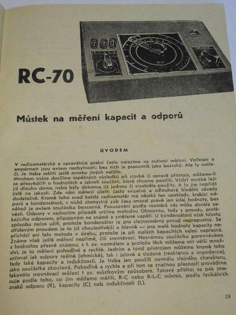 Měření a měřicí přístroje - Sláva Nečásek - radioamatérská škola 4