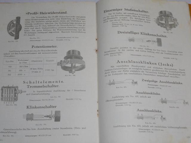 Radio - Katalog - Erste Jugoslavische Fabrik für Telefonie, Optik und Präzisionsmechanik Beograd