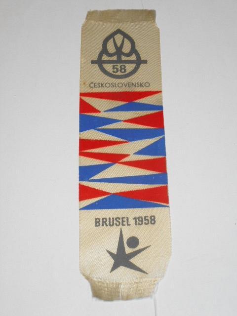 Československo - Brusel 1958 - vlaječka