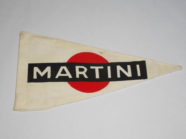 Martini - látková vlaječka