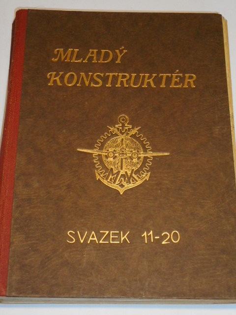 Mladý konstruktér - svazek 11 - 20 - Vladimír Rauschgold - 1941 - 1942
