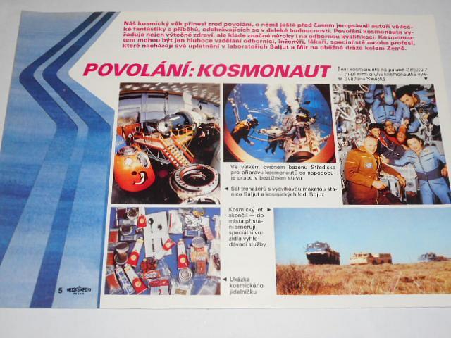 30 let mírového dobývání kosmu - 30 úspěšných let sovětské kosmonautiky - názorná agitace