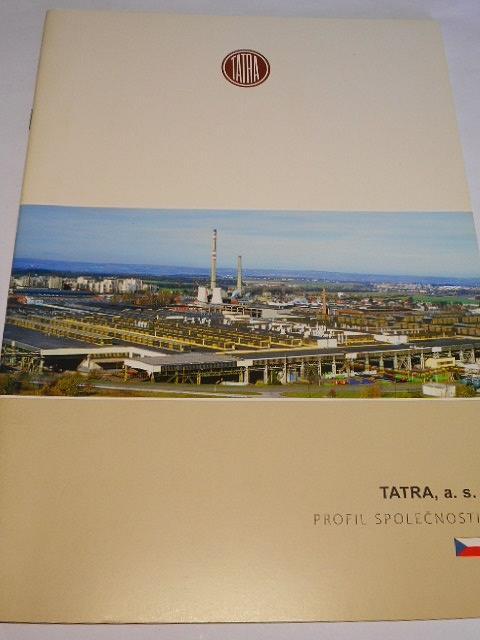 Tatra - profil společnosti - TERRNo 1, T 163 Jamal, Armax, Force, T 815-7 - prospekt - 2007