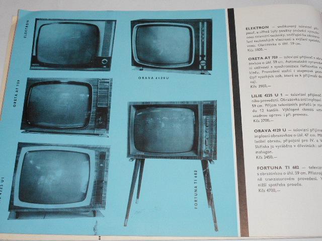 Katalog elektrozboží - domácí potřeby Olomouc - elektro - gramo - radio - televize