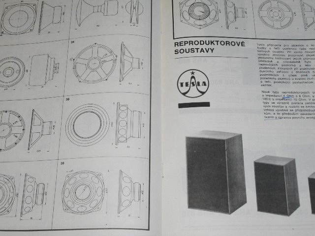Tesla - reproduktory, reproduktorové soupravy, mikrofony