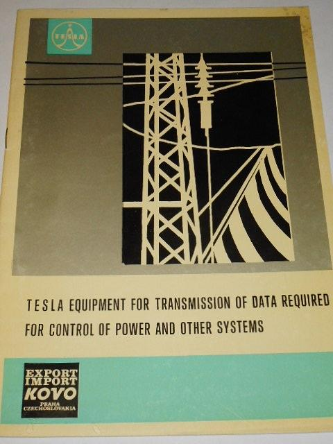 Tesla equipment for transmission of data required for control of power and other systems - prospekt