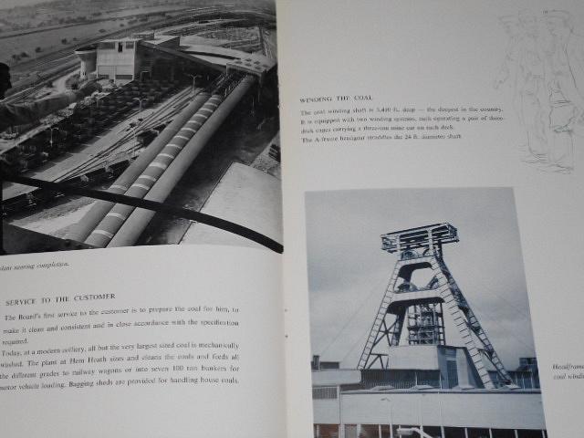 Hem Heath Colliery - National Coal Board West Midlands Division - prospekt
