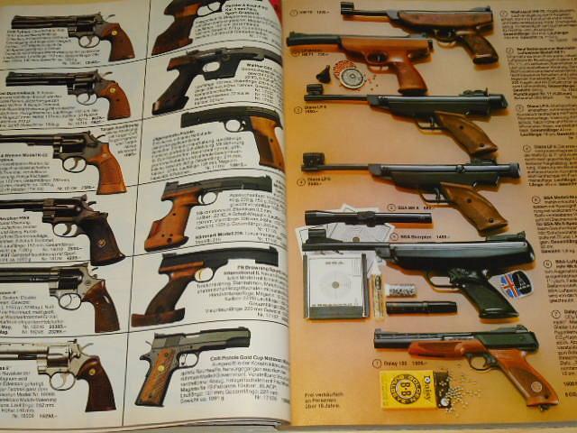 Eduard Kettner - Hauptkatalog 1983/84 - pušky, pistole, vzduchovky, náboje, dalekohledy, nože...