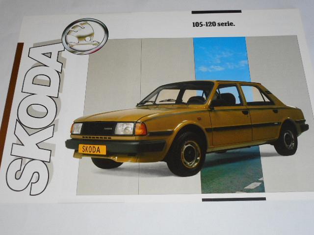 Škoda 105 - 120 serie - prospekt