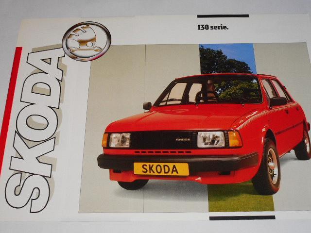 Škoda 130 serie - prospekt