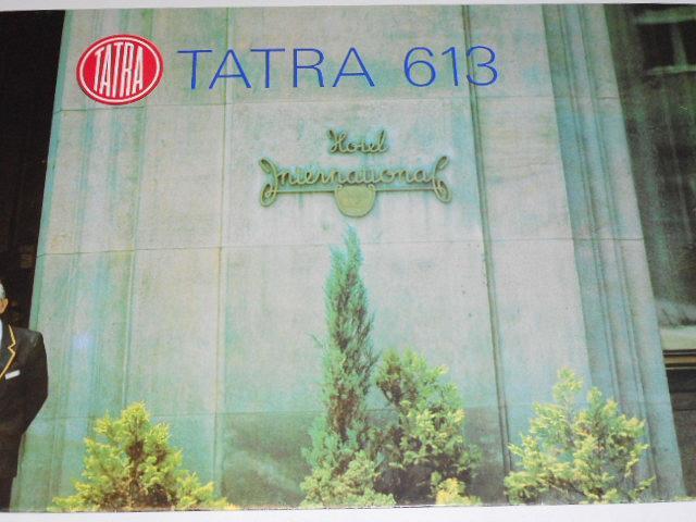 Tatra 613 - prospekt