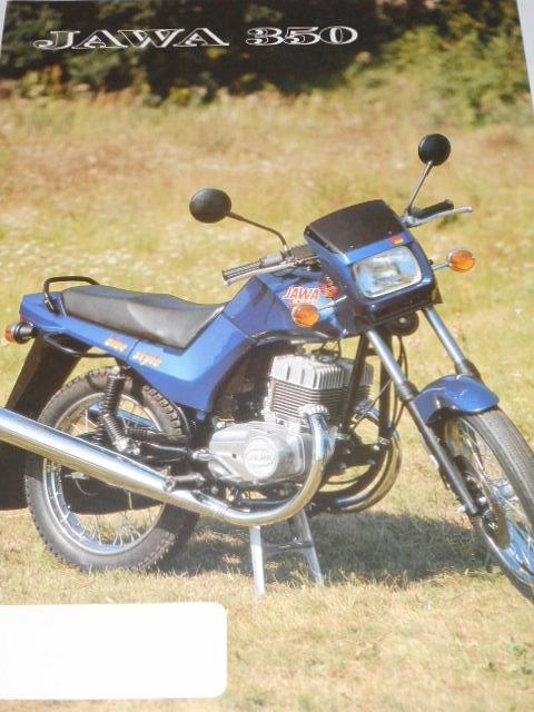 JAWA 350 typ 640 - 0 - solo - prospekt