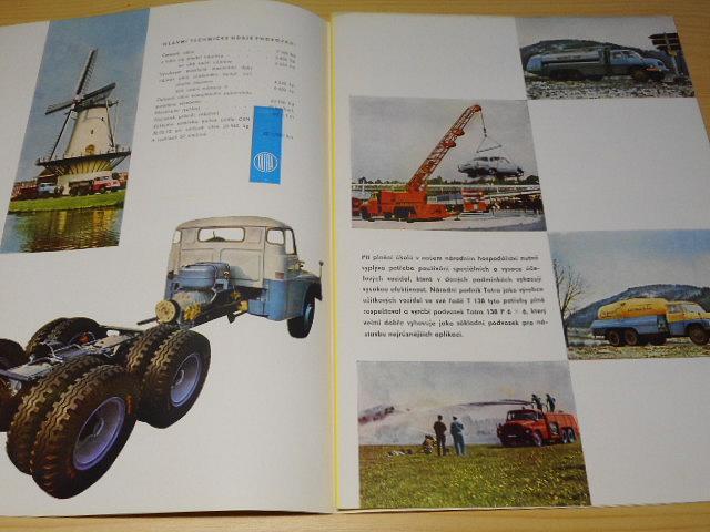 Tatra 138 P 6 x 6 - 1965 - prospekt