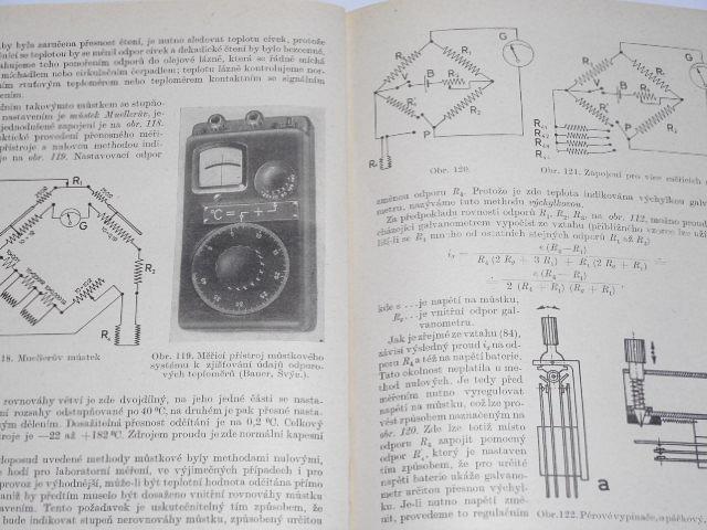 Měření teploty - Václav Šindelář, František Kupka - 1955