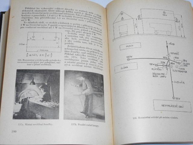 Elektroúdržba v zemědělství - Jiří Tříska - 1957