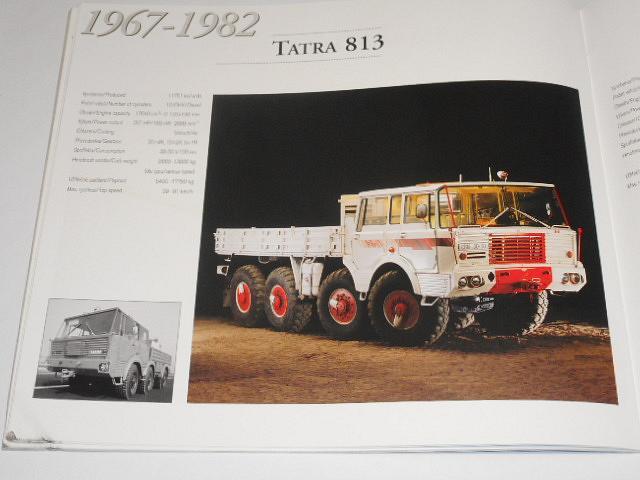 Tatra - nákladní automobily - trucks - 1898 - 1998 - Jiří Vychodil