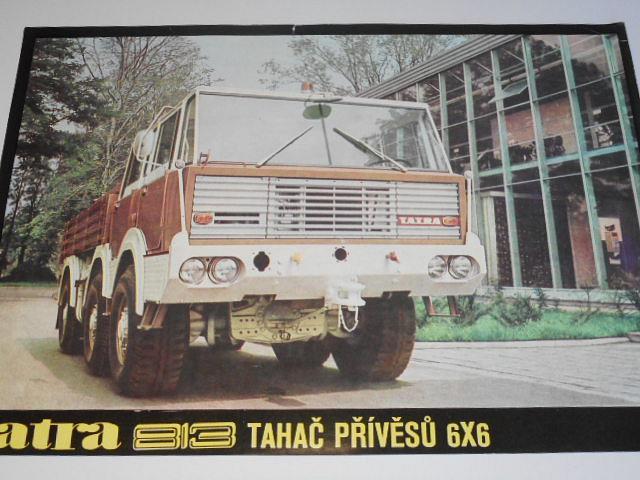 Tatra 813 - tahač přívěsů 6 x 6 - prospekt