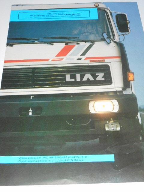 LIAZ 110.471 - návěsový tahač 4 x 2 - prospekt