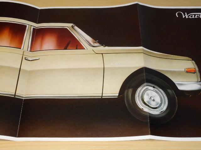 Bezpečnost plus výkon = Wartburg 353 - prospekt - 1972